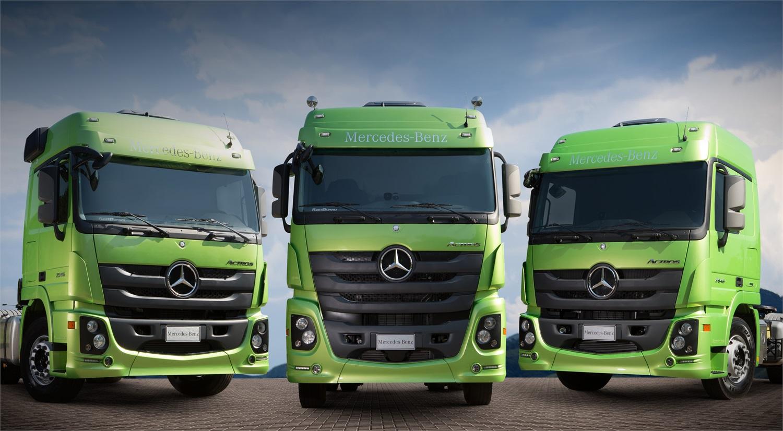 Vitória Diesel inicia venda da nova linha de caminhões - Vitória Diesel 8fad2248caa12